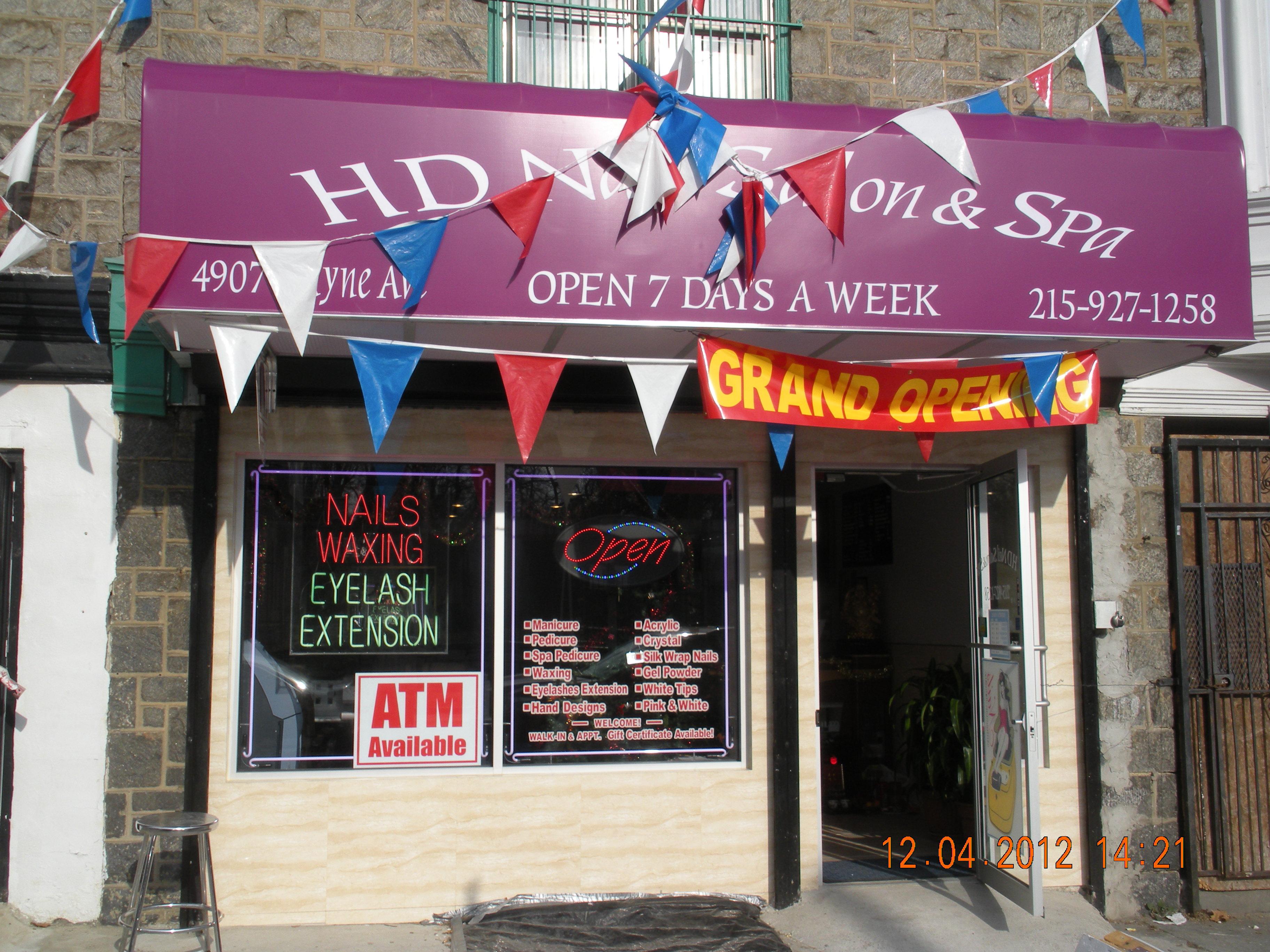 HD Nail Salon & Spa Grand Opening! | Advance To Go LLC